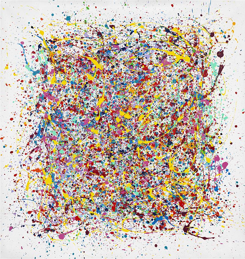 Abstrait fond blanc 140 x 140