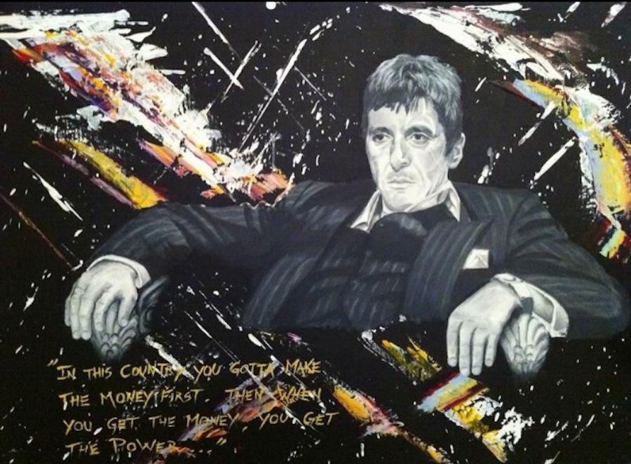 Al Pacino. 116 x 89