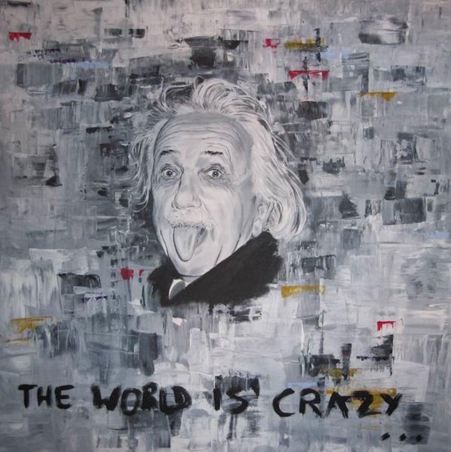 Albert Einstein 100 x 100