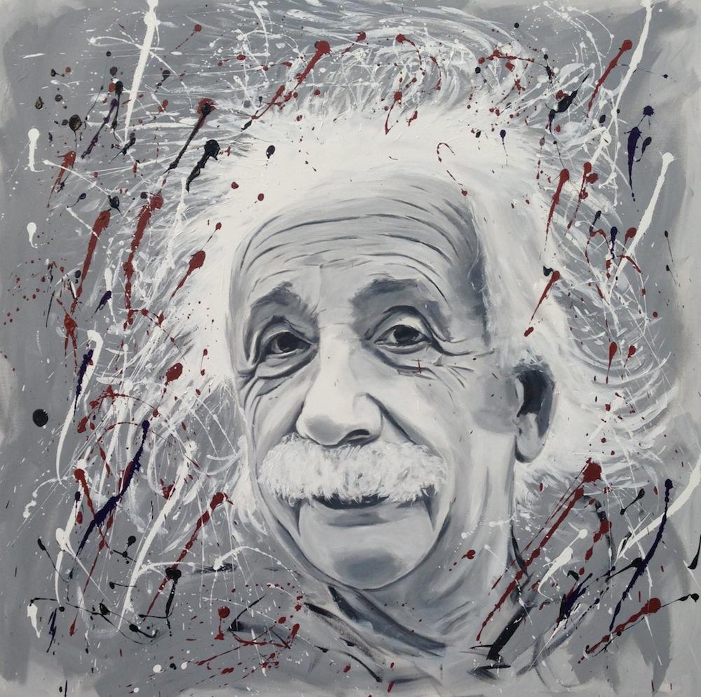 Albert Einstein 120 x 120
