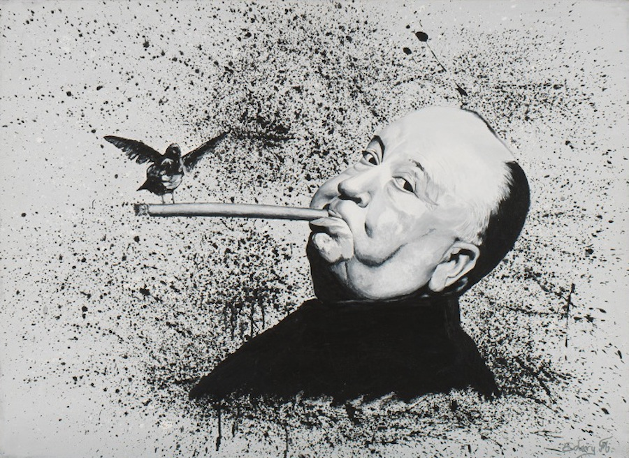 Alfred Hitchcock 100 x 81