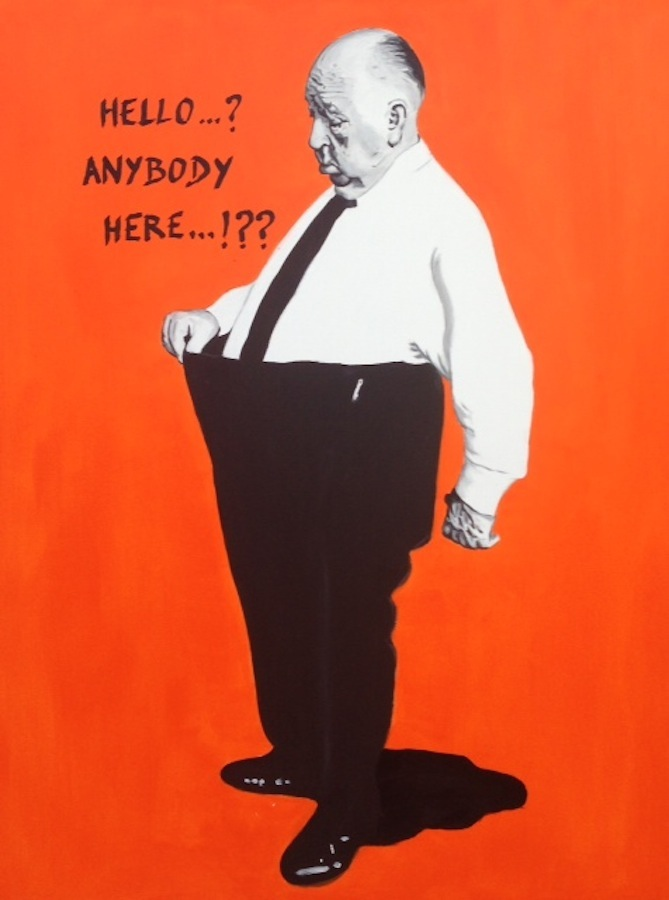 Alfred Hitchcock - hello 116 x 89