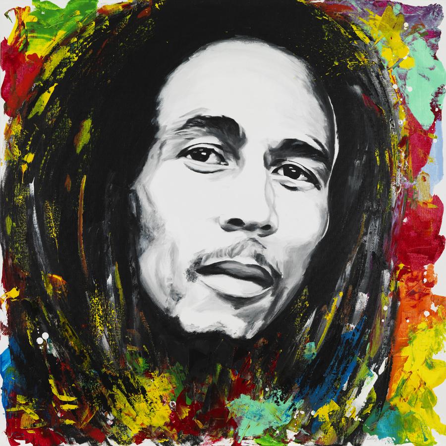Bob Marley 120 x 120