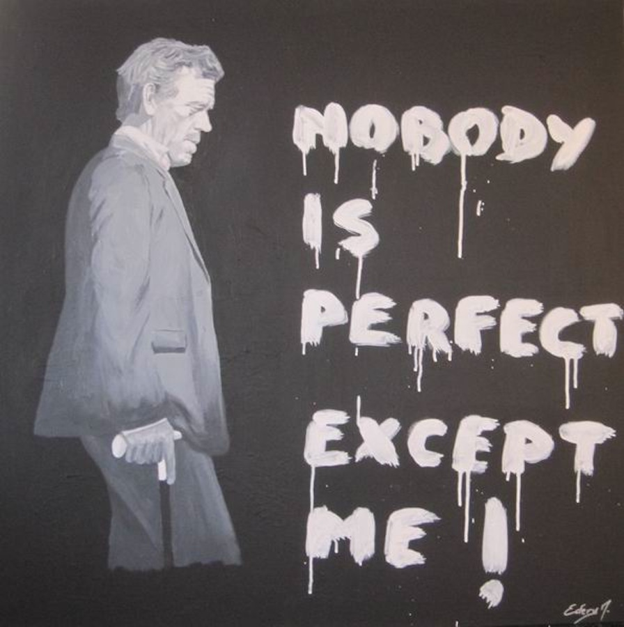 Docteur House - Nobody is perfect 100 x 100
