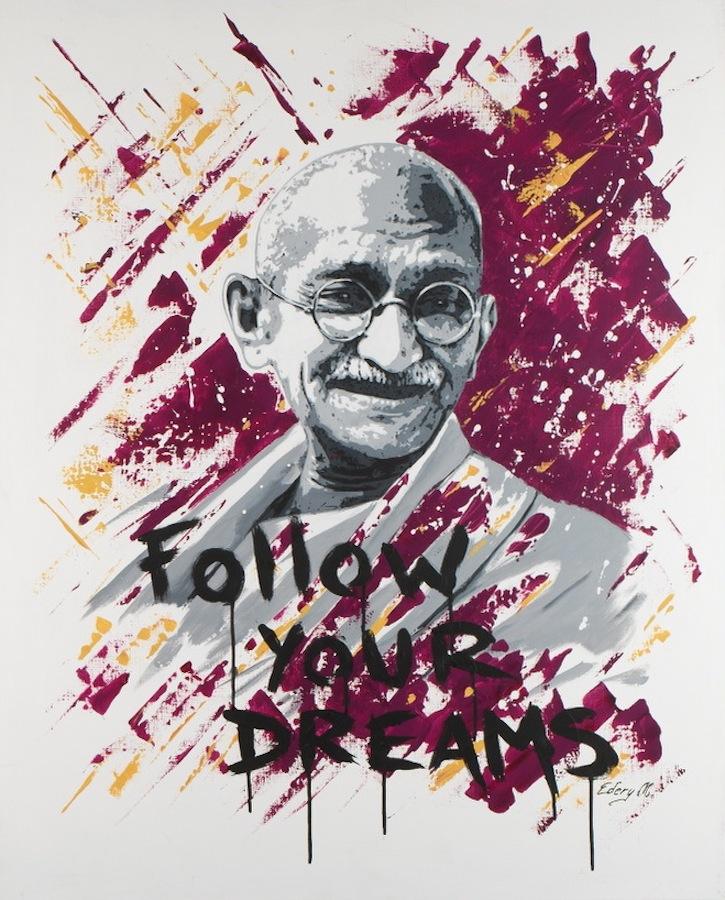 Gandhi 100 x 81
