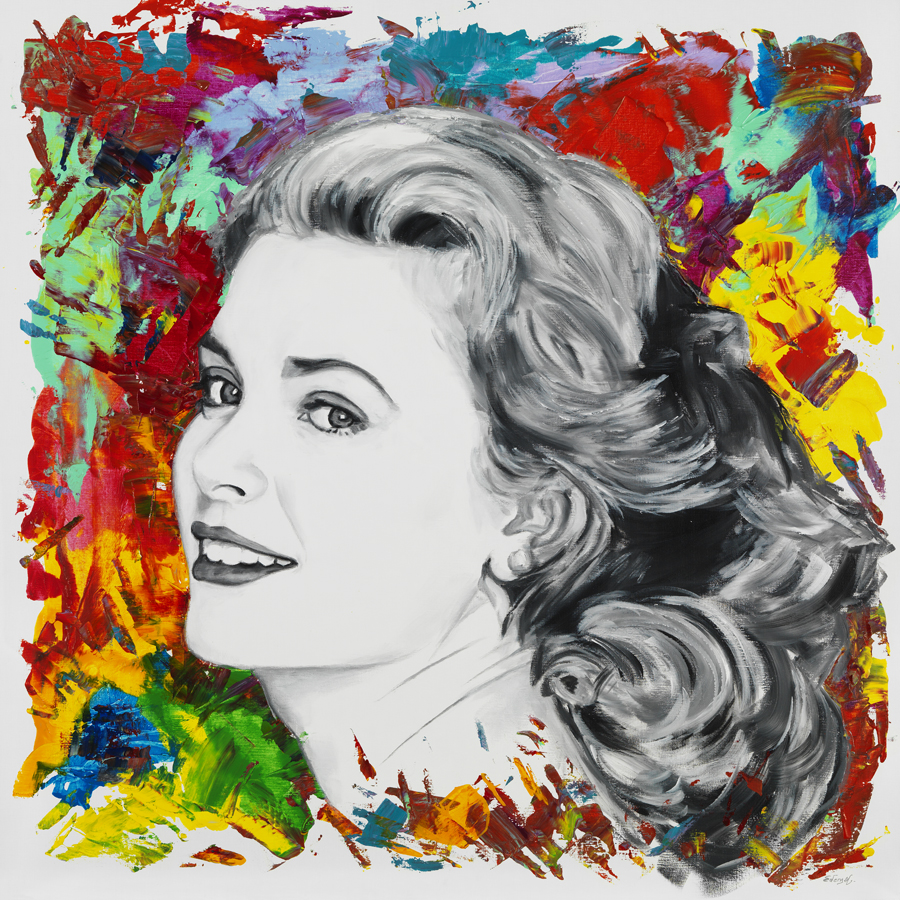 Grace Kelly 120 x 120