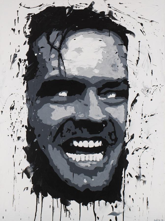 Jack Nicholson. 130 x 97
