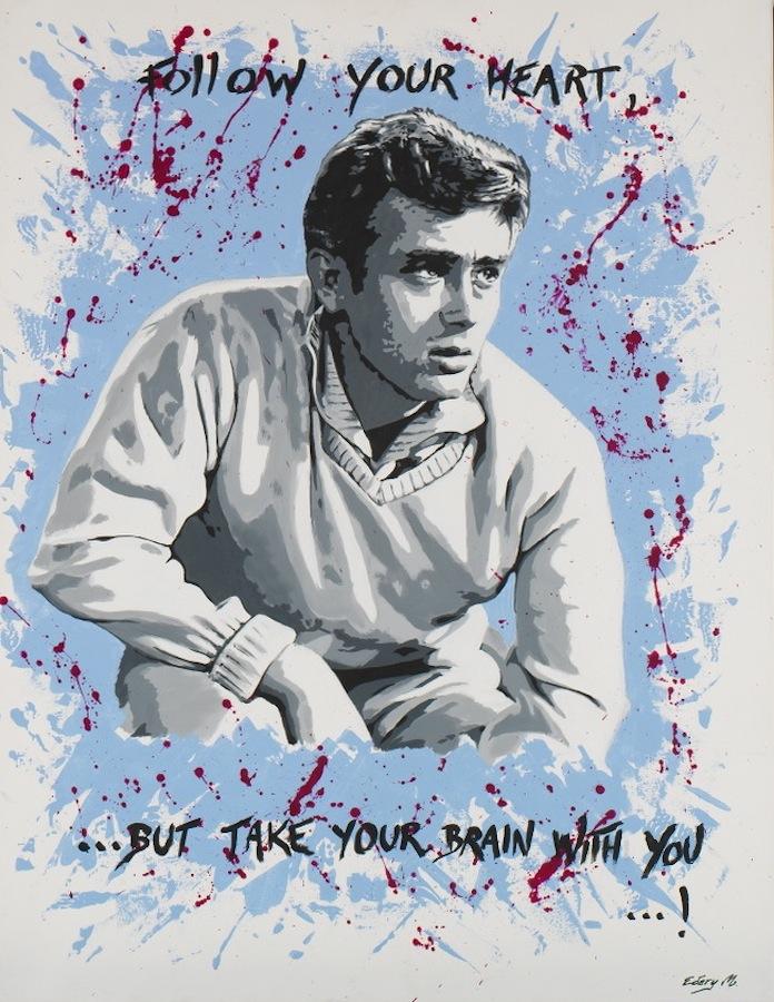 James Dean 116 x 89
