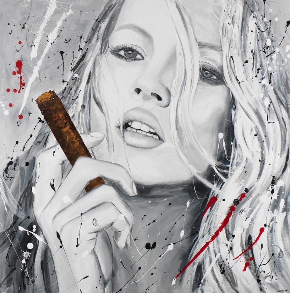 Kate Moss 120 x 120