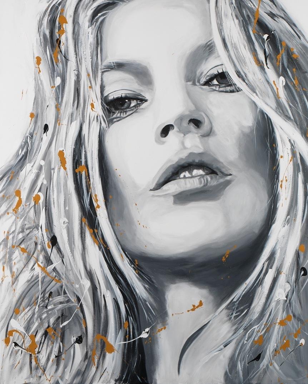 Kate Moss. 162 x 130