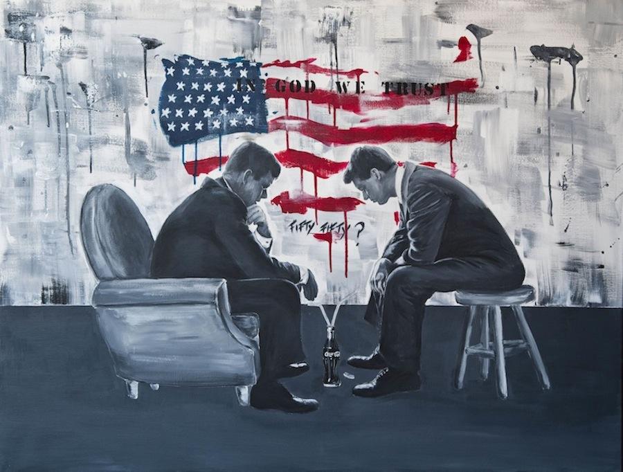 Les Kennedy 116 x 89