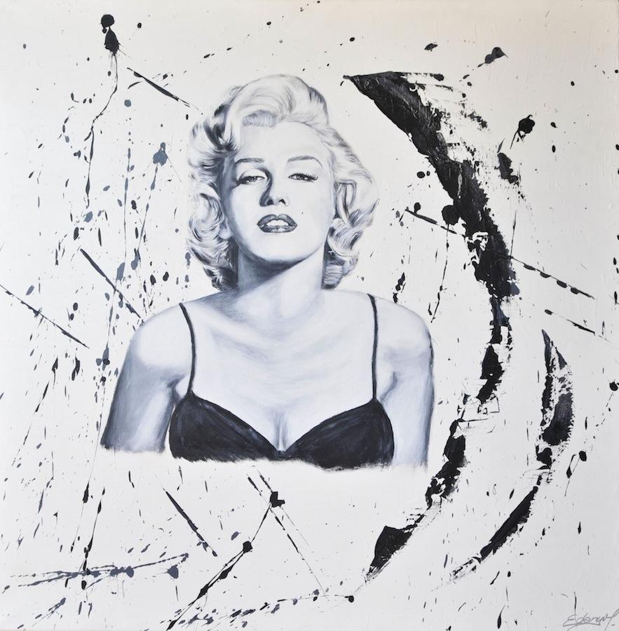Marylin Monroe, 100 x 100