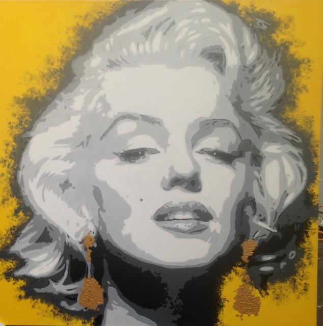 Marylin Monroe 110 x 110.