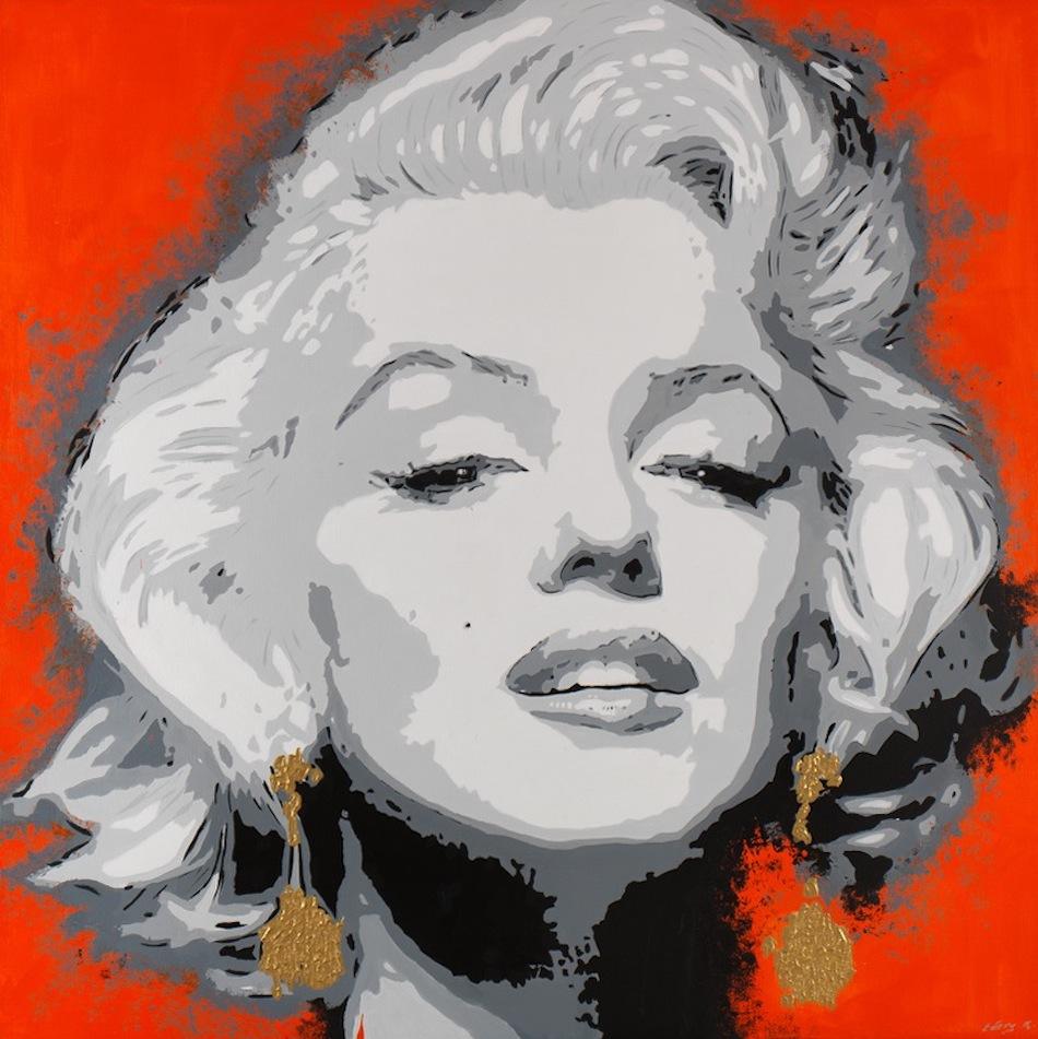Marylin Monroe 110 x 110