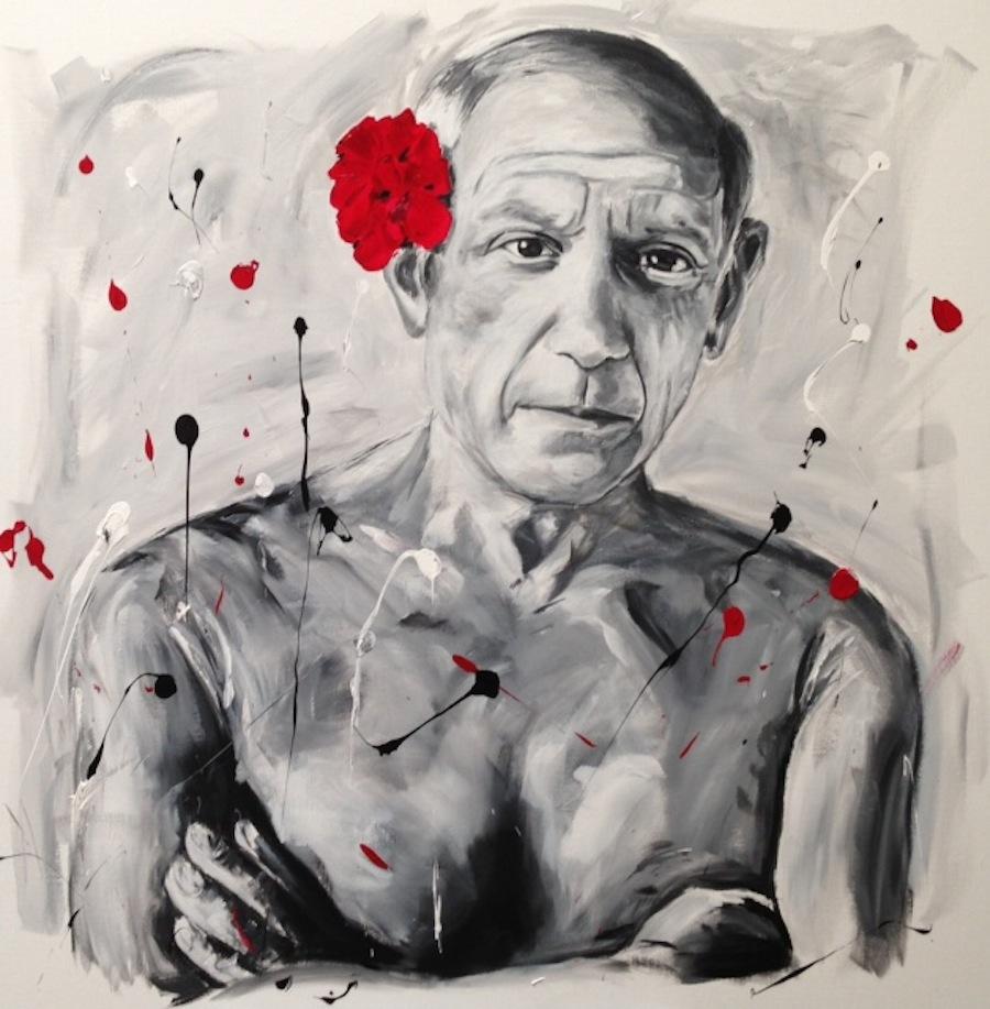 Pablo Picasso 120 x 120