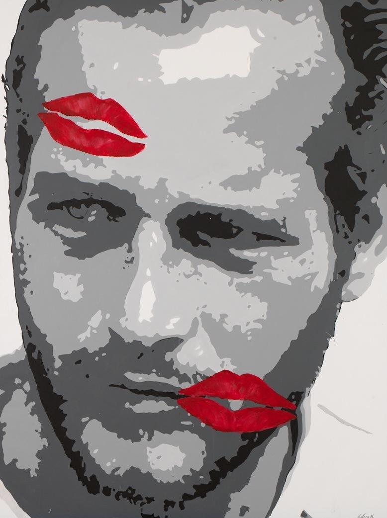 Paul Newman. 130 x 97