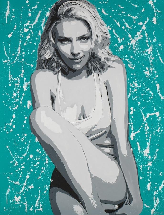 Scarlett Johansson 116 x 89