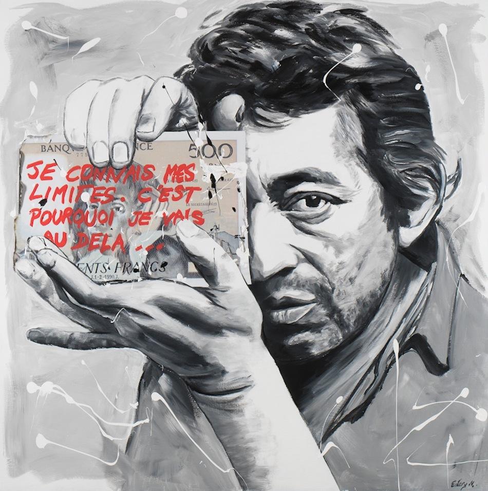 Serge Gainsbourg 120 x 120