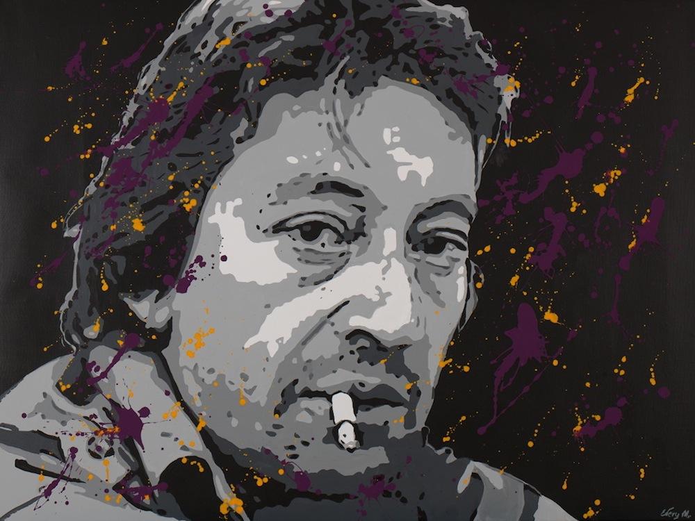 Serge Gainsbourg, 130 x 97