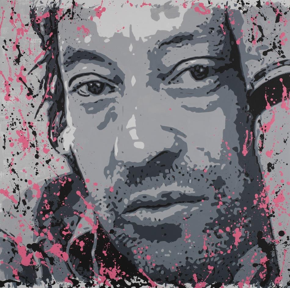 Serge Gainsbourg. 110 x 110
