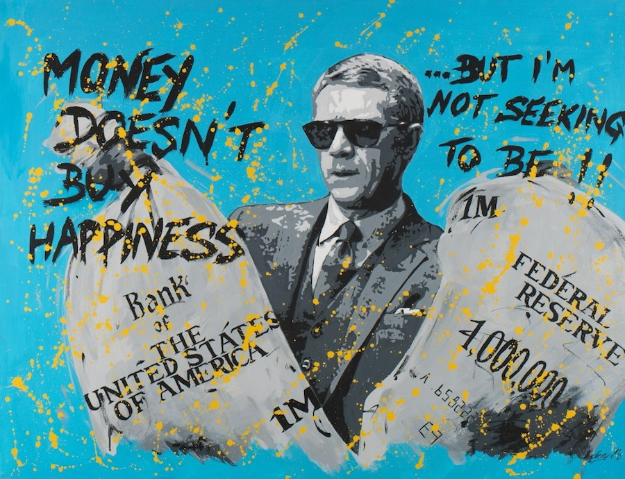 Steve McQueen - money 116 x 89